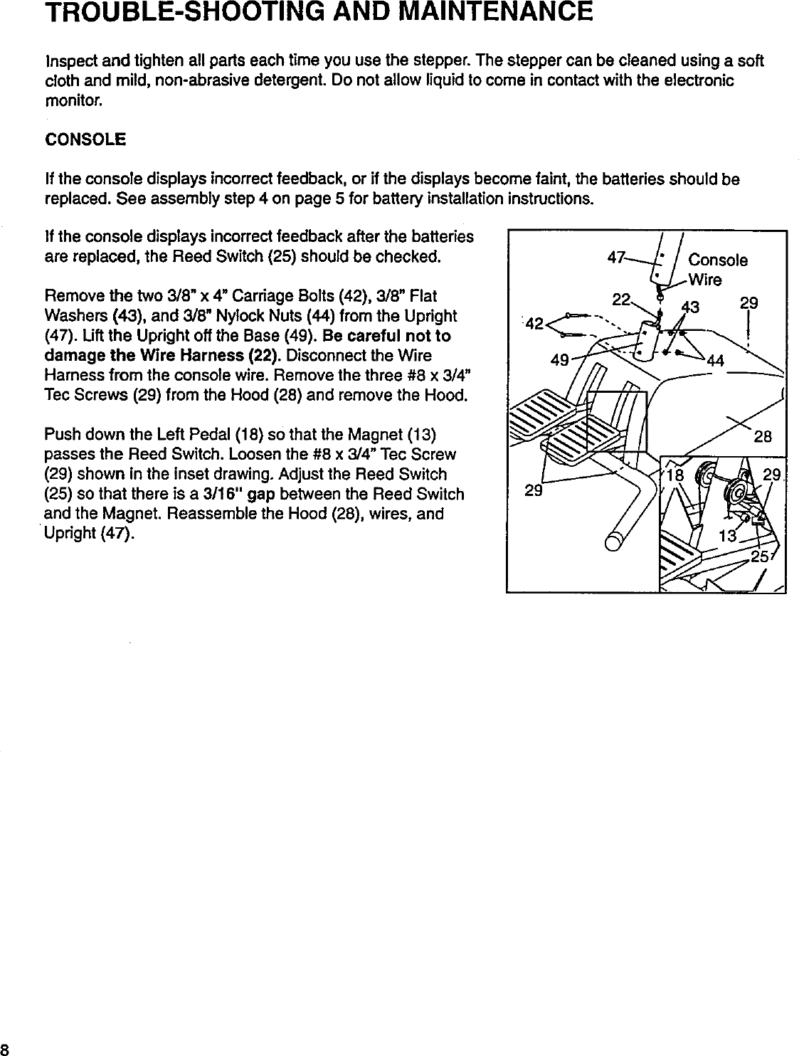 Lifestyler 831285760 User Manual St 510 Manuals And Guides 99020181 Wire Harness Magnets Page 8 Of 12