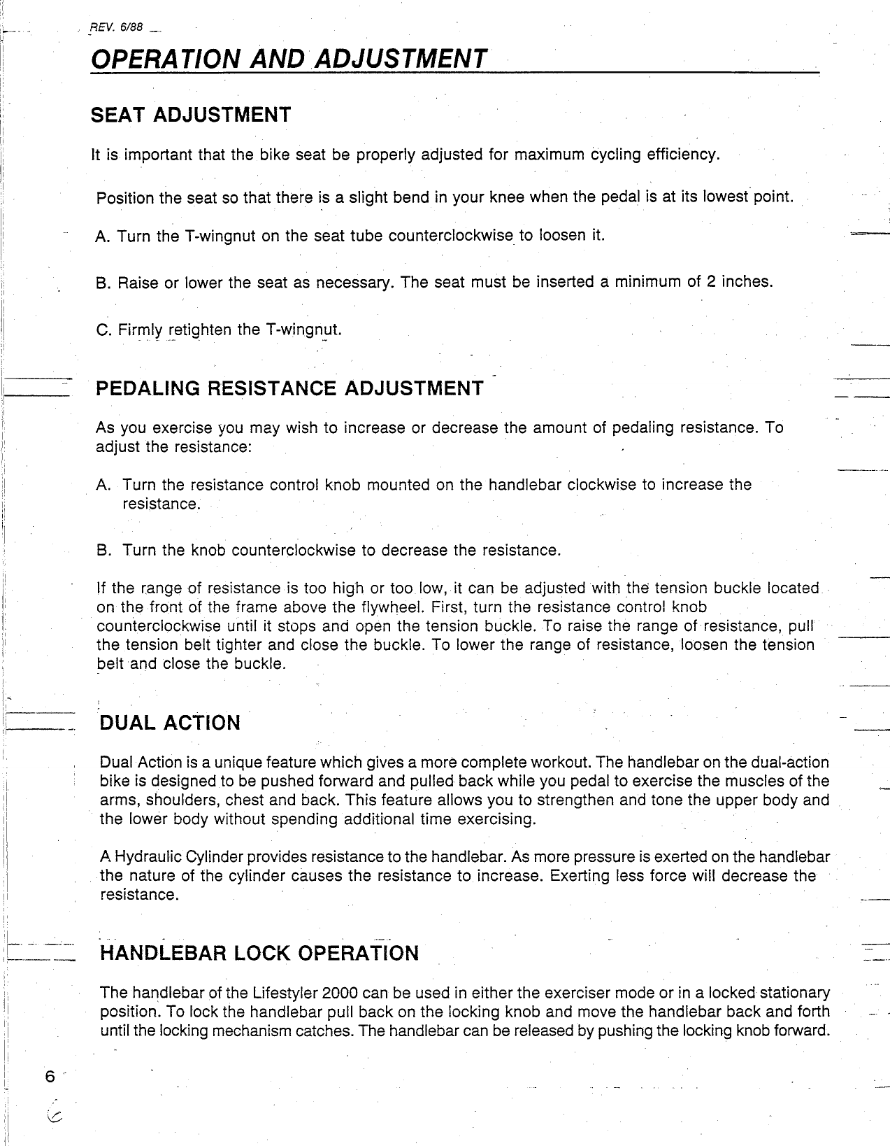 Lifestyler 291170 Owners Manual