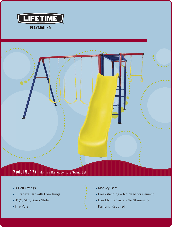 Lifetime Swing Sets 90177 Users Manual 90177 Cs