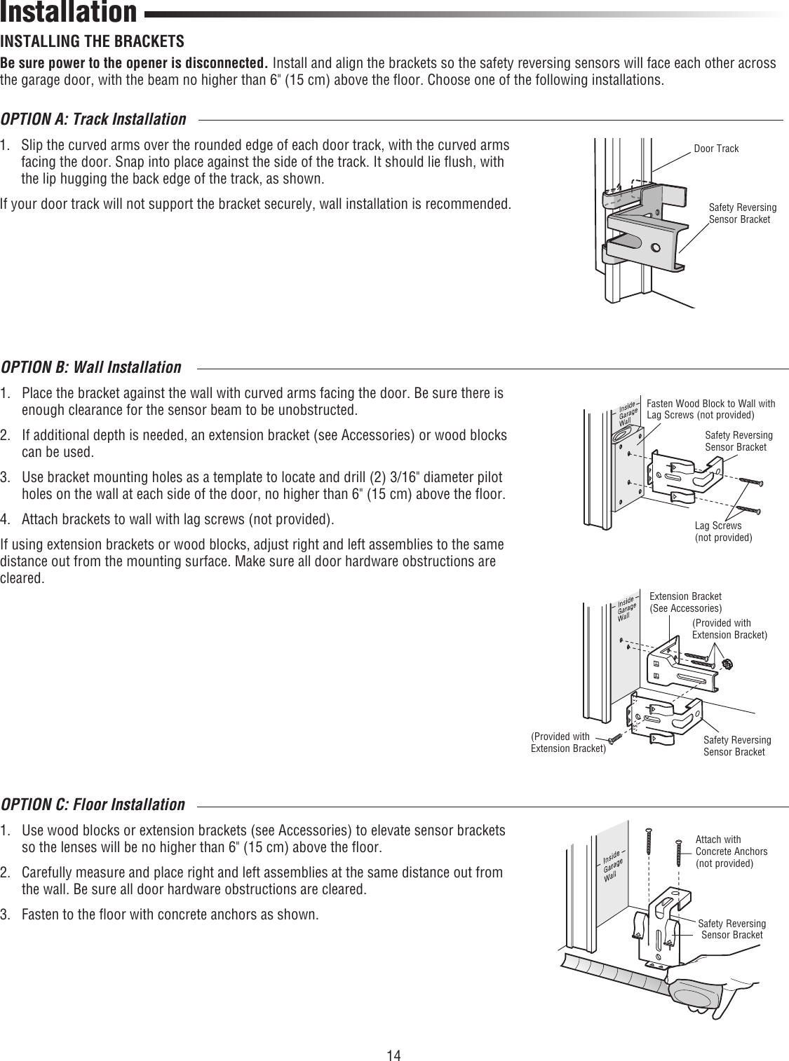 Liftmaster 8500 Owners Manual