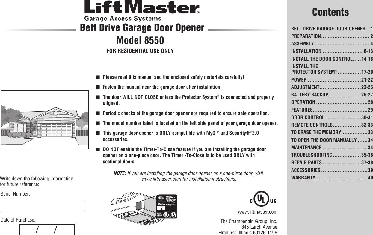 Liftmaster Garage Door Opener Error Code 14 Dandk Organizer