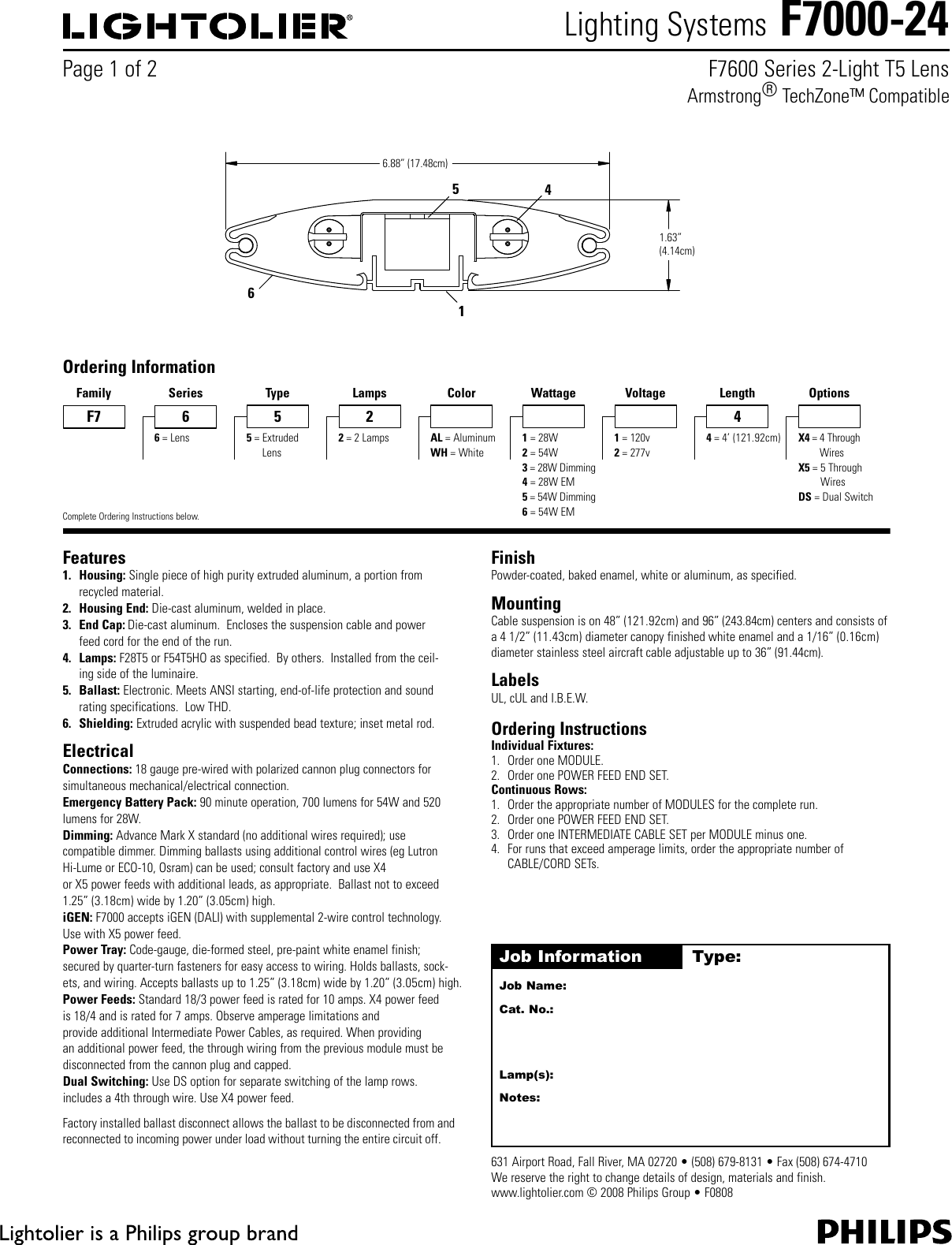 Lightolier Wiring Diagram Schematics Lighting Systems F7000 24 Users Manual Basic Electrical Diagrams