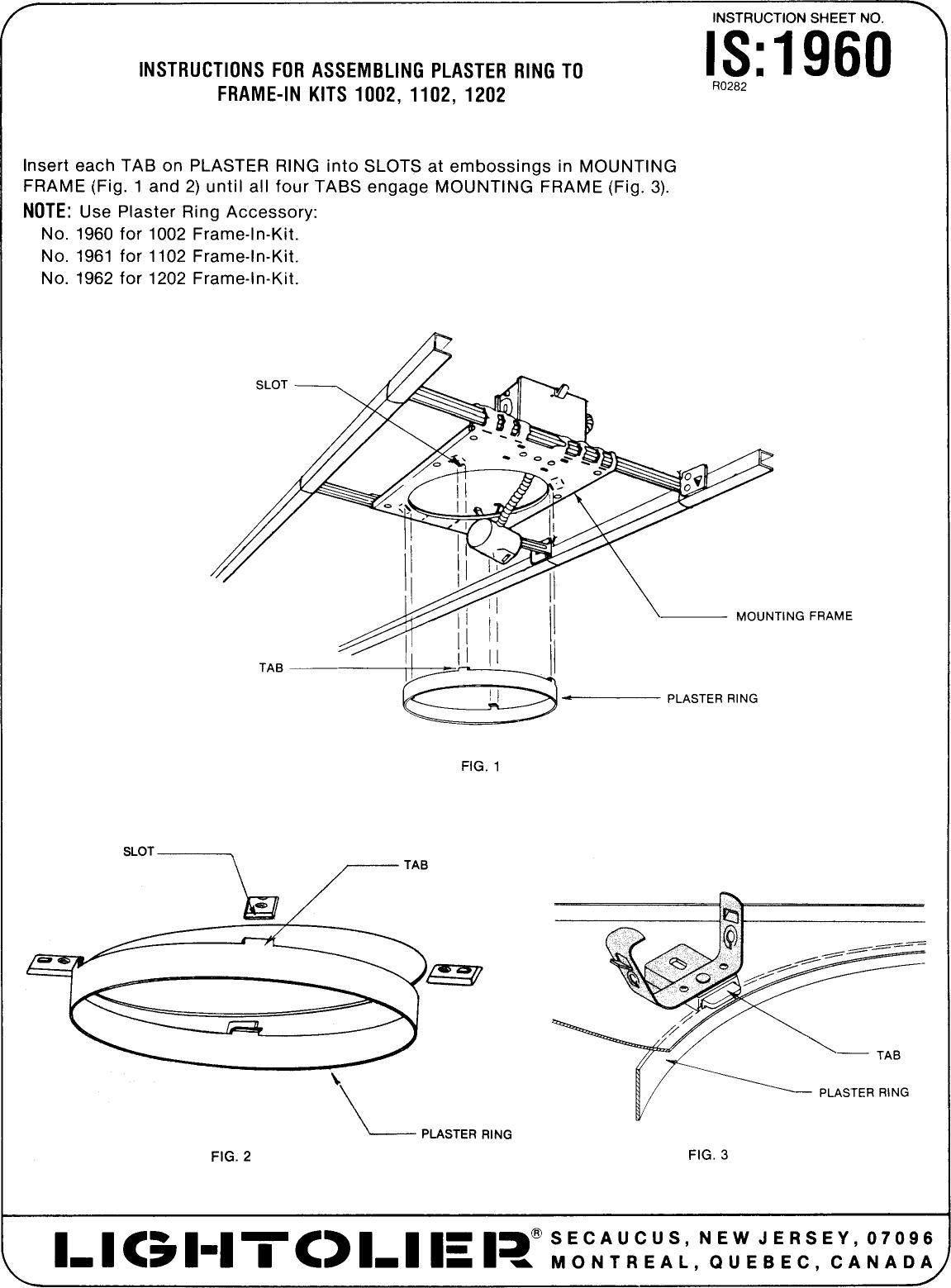 Lightolier lytespan track lighting system 1960 users manual as301 done aloadofball Choice Image