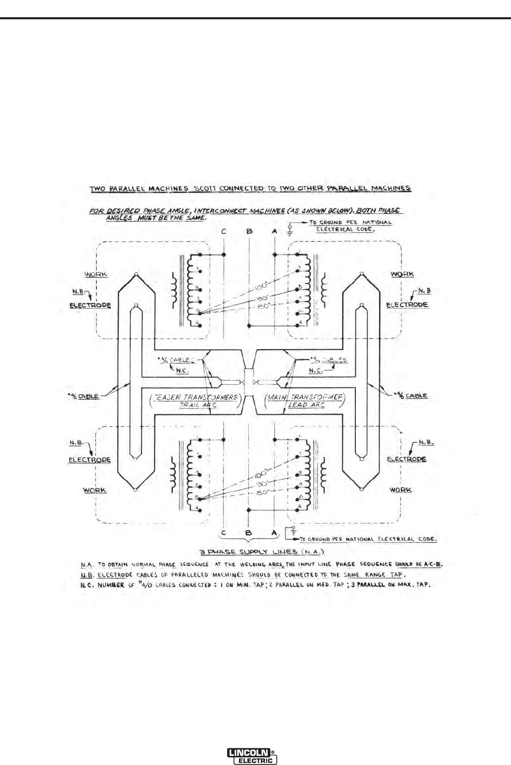 Lincoln Electric Idealarc Ac 1500 Users Manual Im914 Rheostat Wiring Diagram