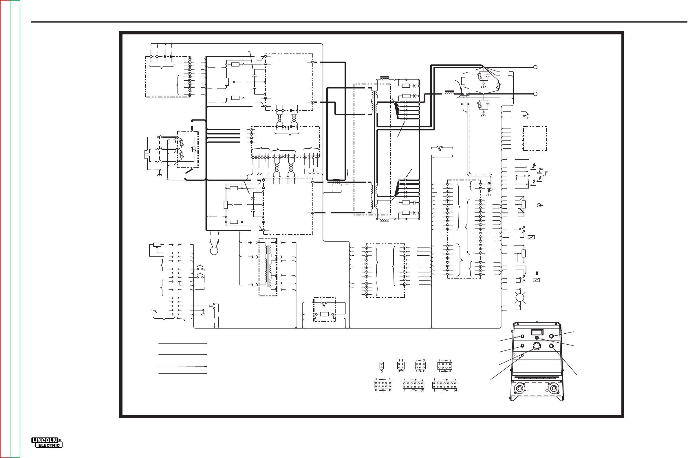 Lincoln Electric Invertec V300 Pro Svm105 B Users Manual Svm105b Pnp 24v Wiring Diagrams For Eyes Photo Electrical G 3