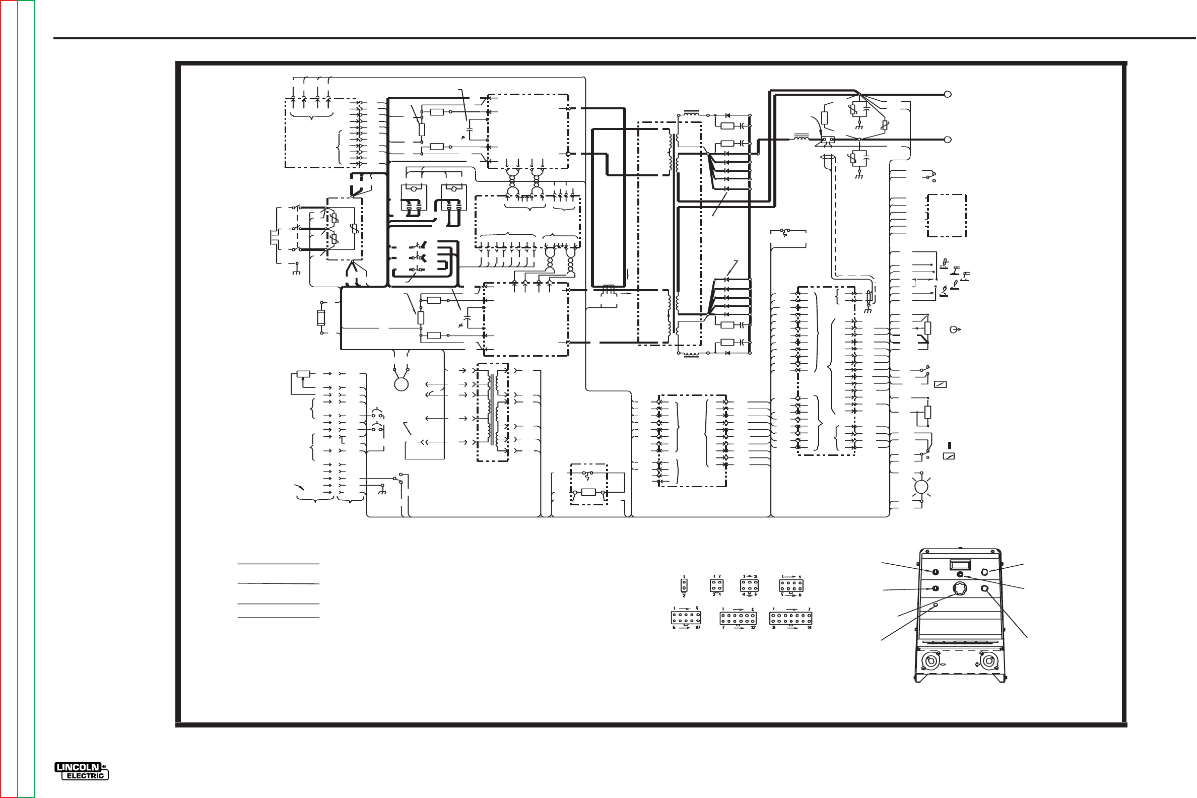 Lincoln Electric Invertec V300 Pro Svm105 B Users Manual Svm105b Pnp 24v Wiring Diagrams For Eyes Photo Electrical G 4
