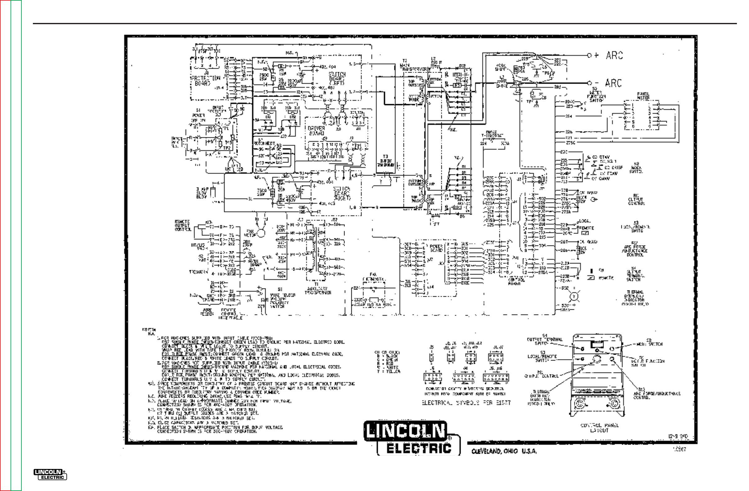 Lincoln Electric Invertec V300 Pro Svm105 B Users Manual
