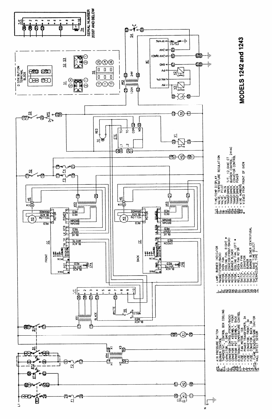 Lincoln Impinger Conveyor Oven Series 1000 Users Manual I Service Robert S Wiring Diagram International 25