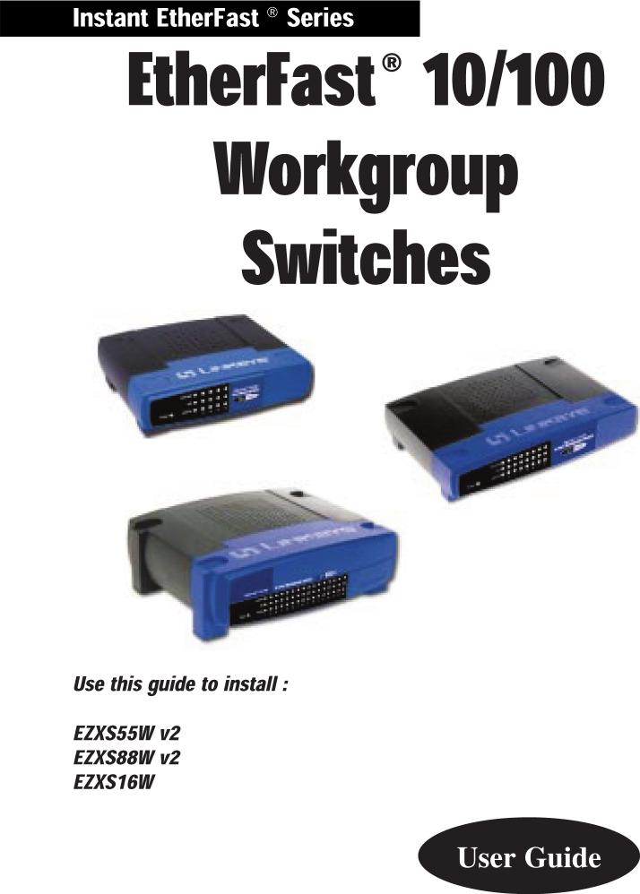linksys ezxs55w manual open source user manual u2022 rh dramatic varieties com Manual Linksys SD2008 Linksys 5-Port Switch