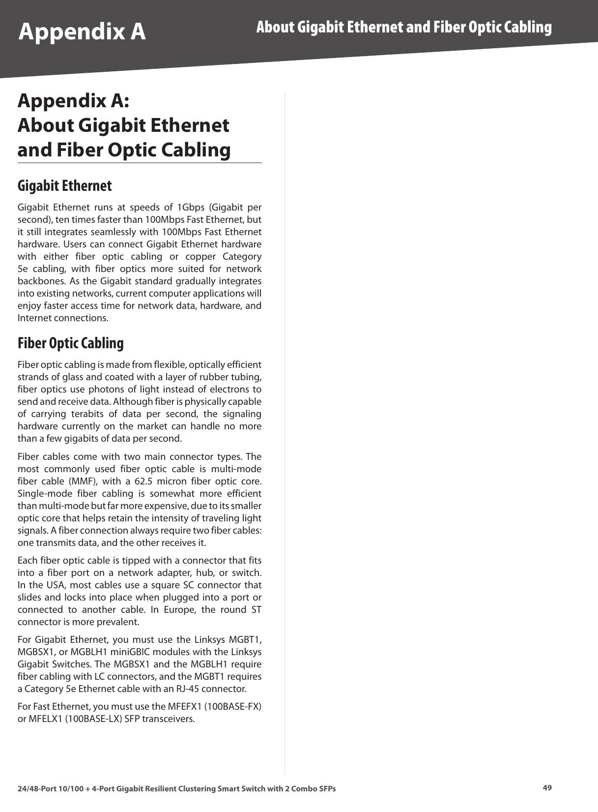 Linksys Slm224G4S Users Manual Cisco SLM224G4S, SLM248G4S 24
