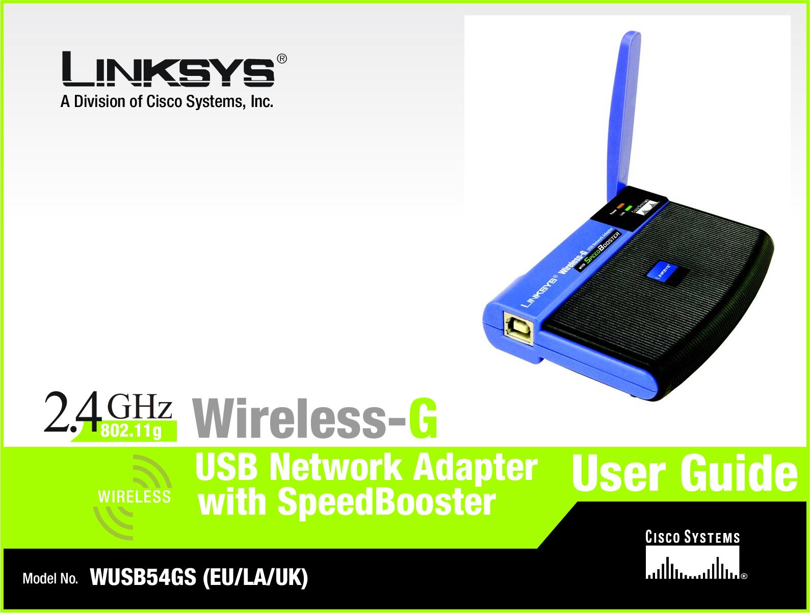 LINKSYS WUSB54GS-EU WINDOWS 7 X64 DRIVER DOWNLOAD