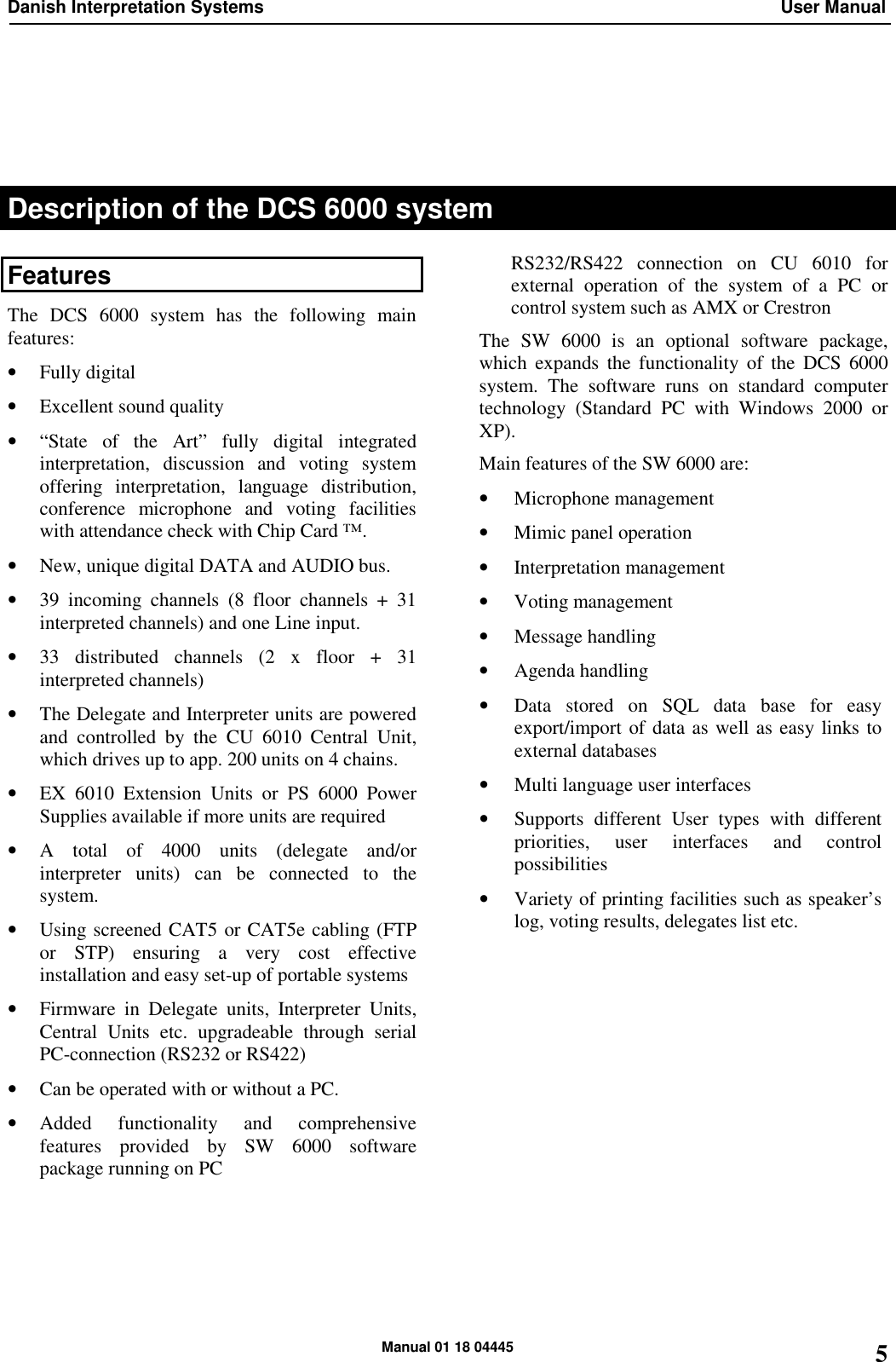 Listen Technologies Interpreter Set Is 6132P Users Manual IS6132 Rev M