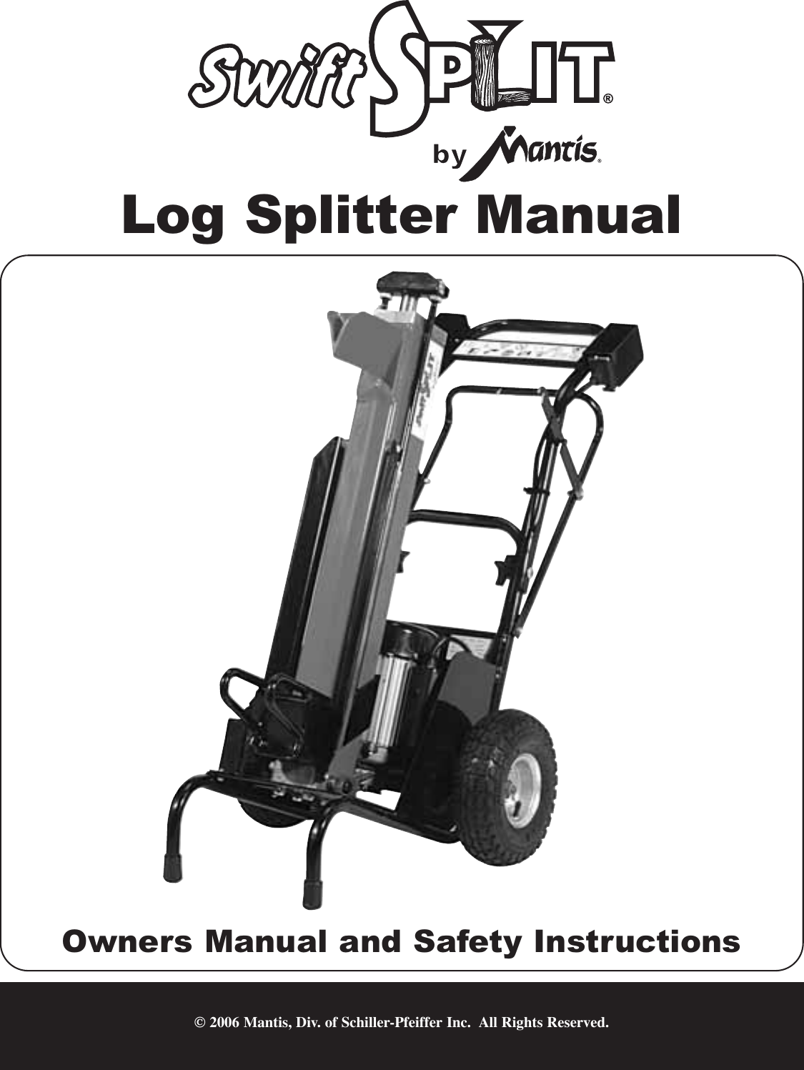 Little Wonder 5000 Users Manual 510700 Swift Split Log Splitter Solenoid Wiring Diagram
