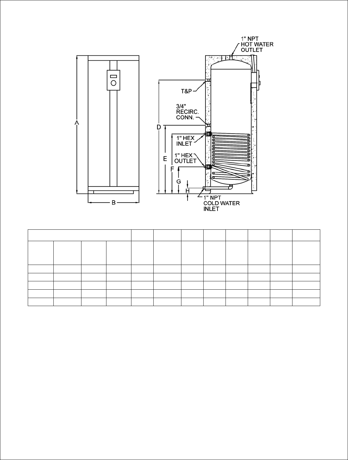 Lochinvar Water Heater Thermostat Wiring Diagram Gas Richmond Heaters Users Manual On