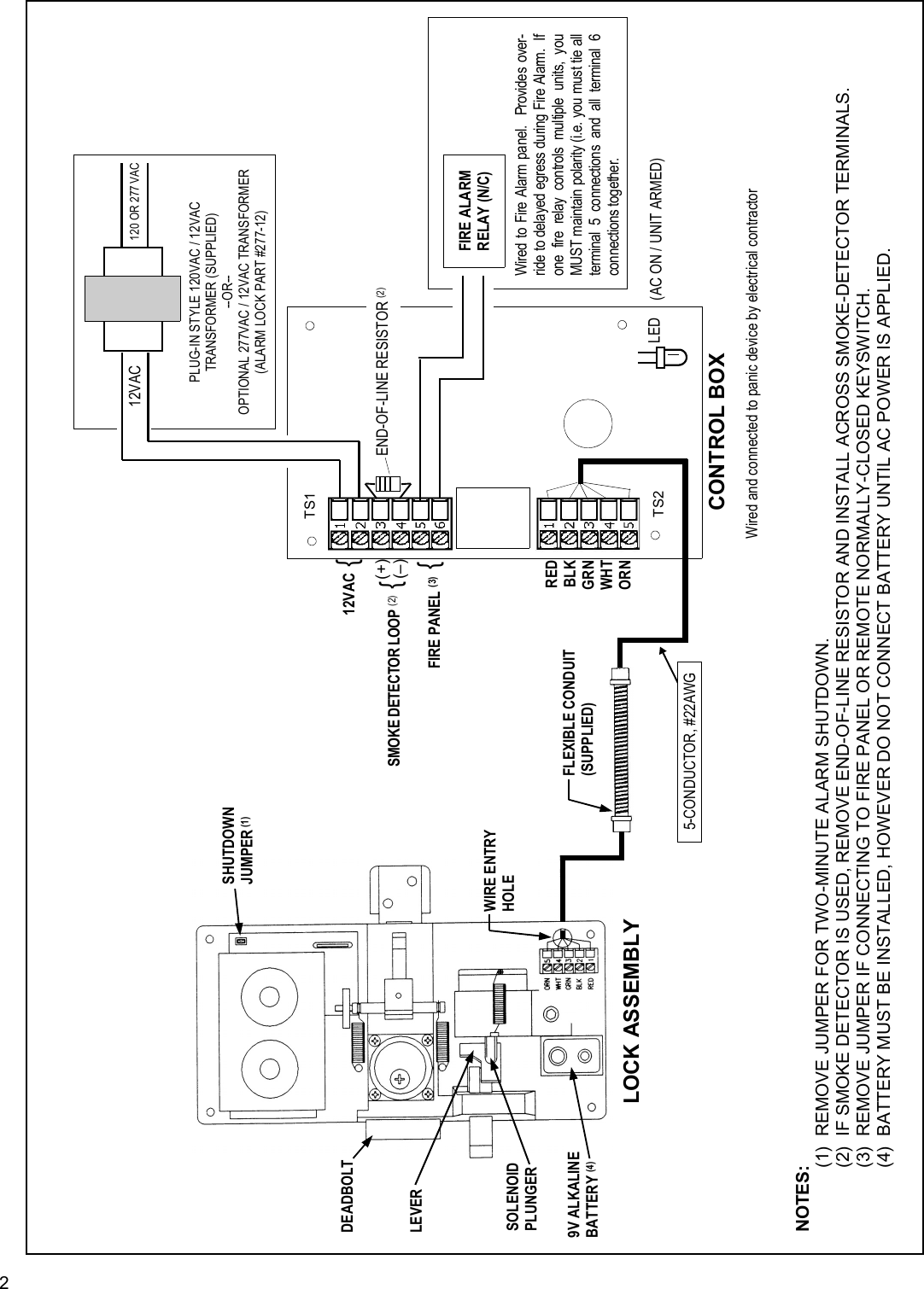 Locks 715_Gen_WI1584.18_QUICK General Wiring Instructions ... on