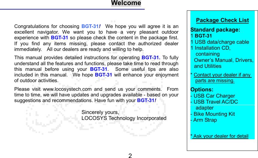 locosys technology 21021 bluetooth gps receiver user manual gt 31 rh usermanual wiki BGT Judges Simon Cowell BGT