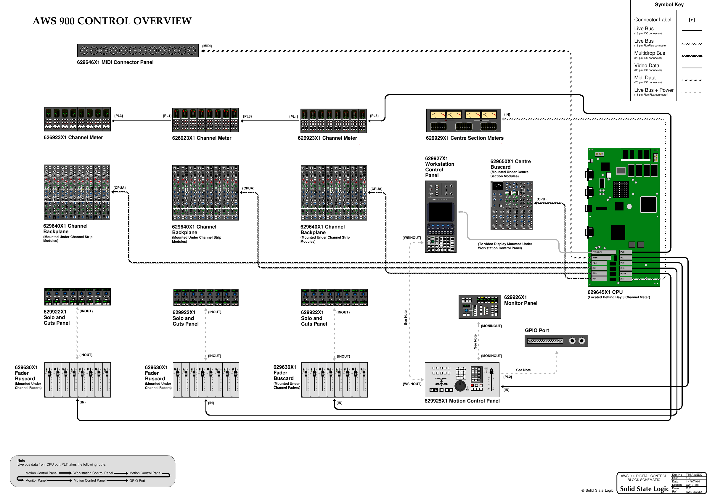 Logic Aws900 Block Diagrams User Manual Diagram Page 3 Of 4