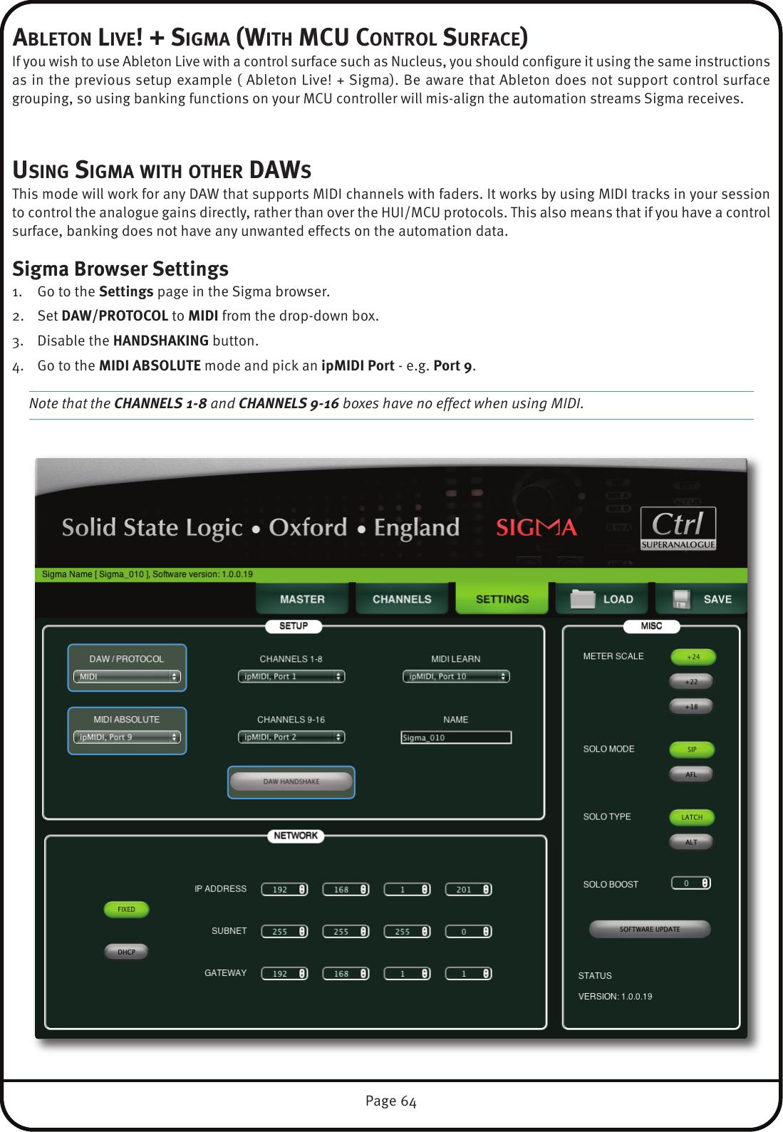 Print Layout SSL Sigma User Guide