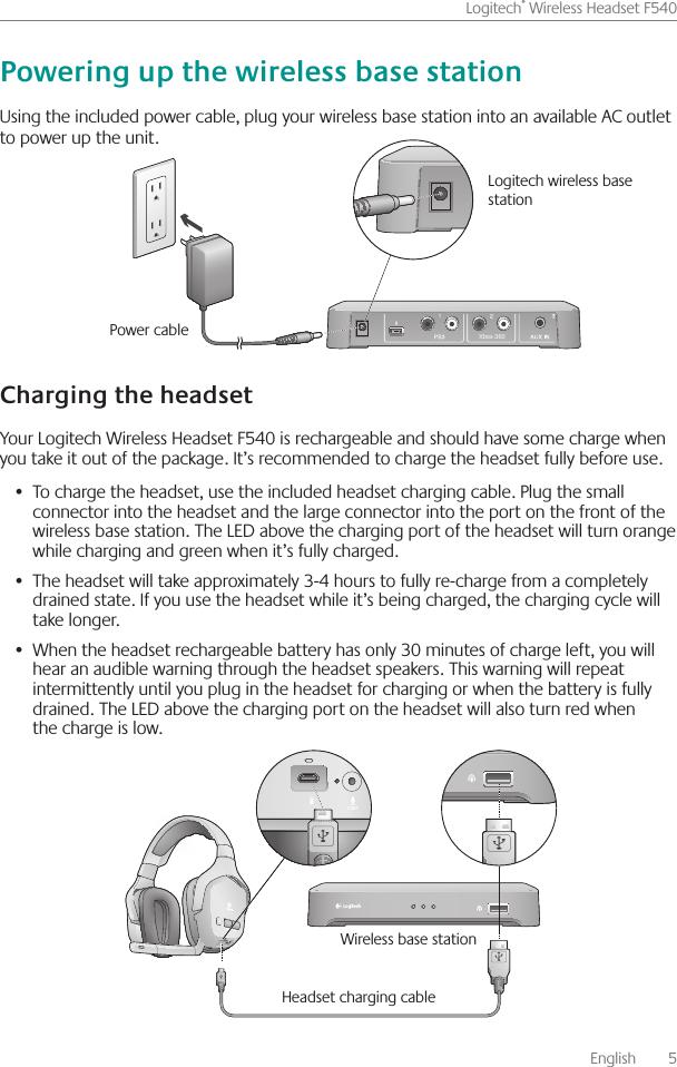 Logitech Outlet Manual Guide