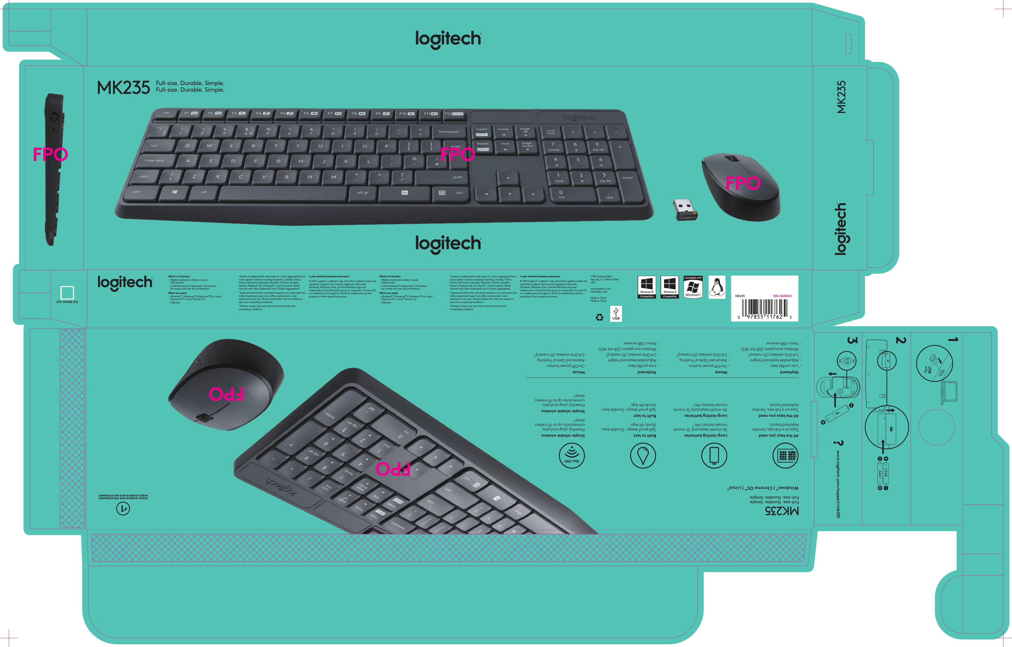 logitech far east yr0036 2 4ghz cordless keyboard user manual hanoi rh usermanual wiki Logitech Cordless Optical Trackman Mouse Logitech Cordless Optical Mouse Drivers