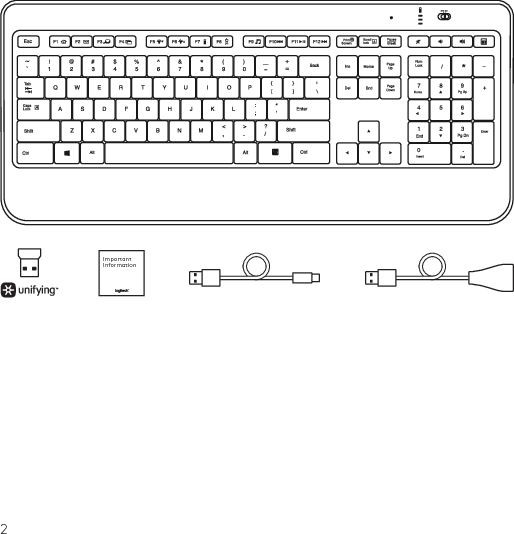 Logitech Keyboard Manual