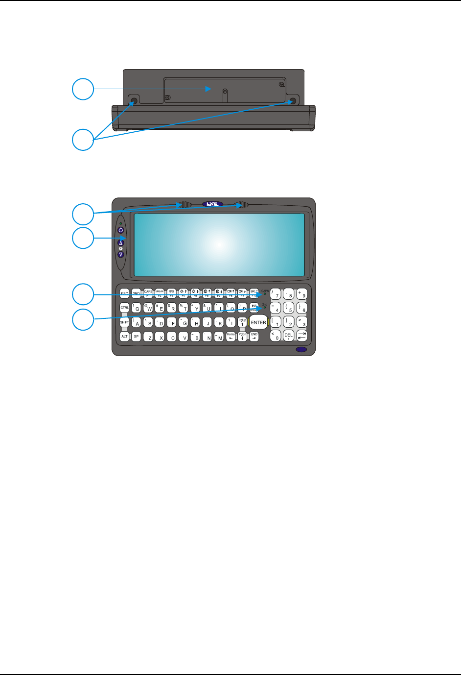 LXE 9000052CABLE VX5,6 7