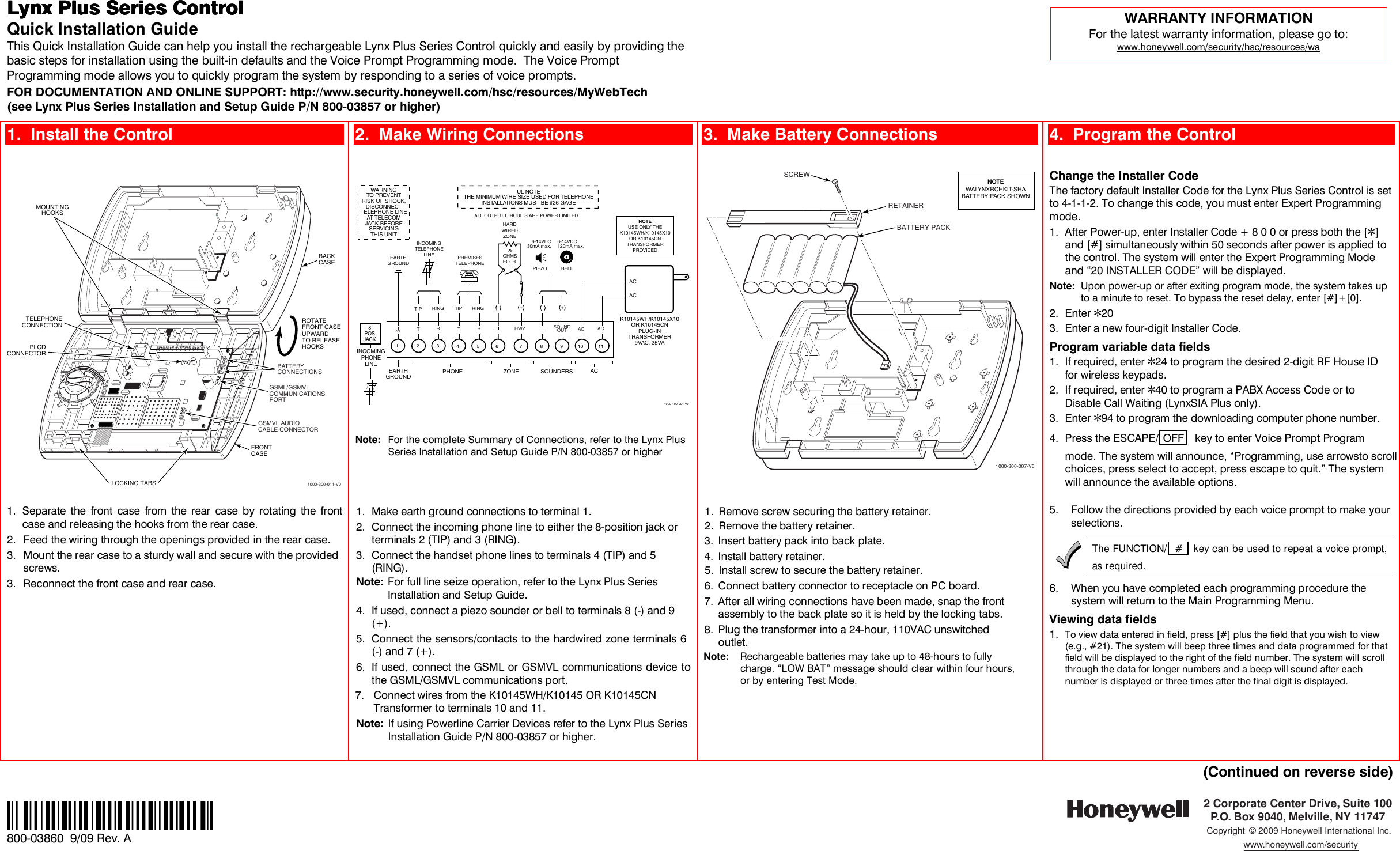 Lynx Dollhouse 1000 300 011 V0 Users Manual 800 03860 Qs Doll House Wiring