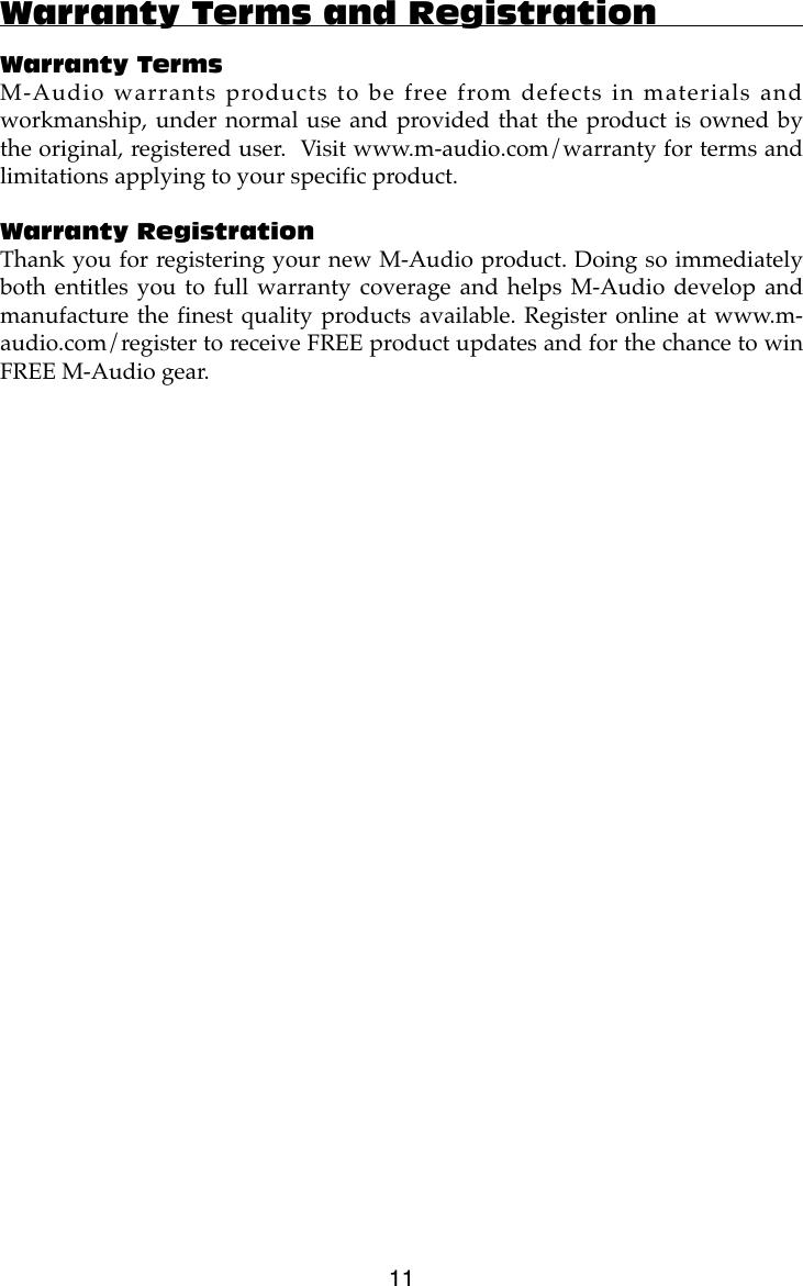 M Audio Tc9820Phi Users Manual Super DAC 24/96