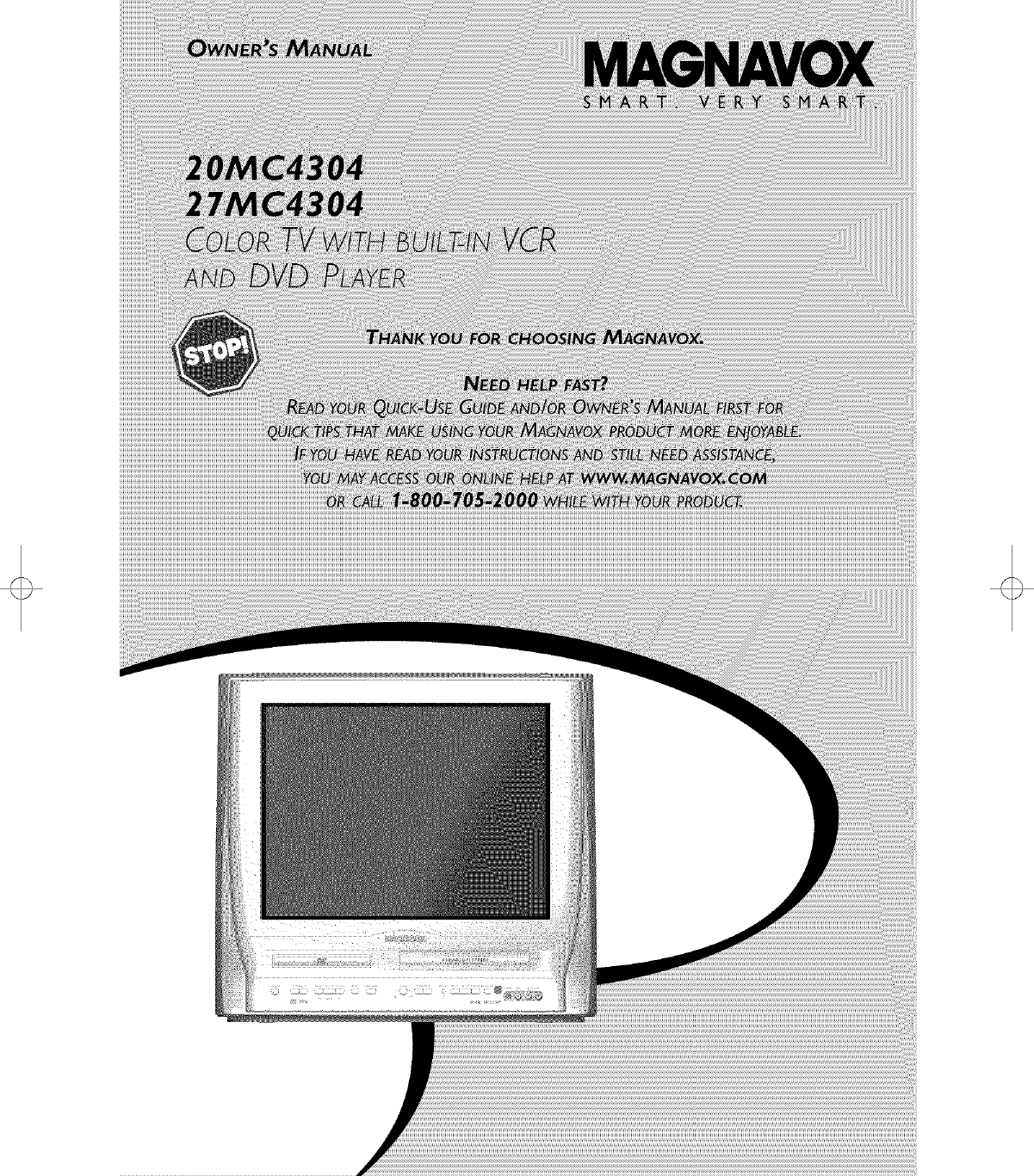 MAGNAVOX Direct View/Digital 26 And Under TV Manual L0503138