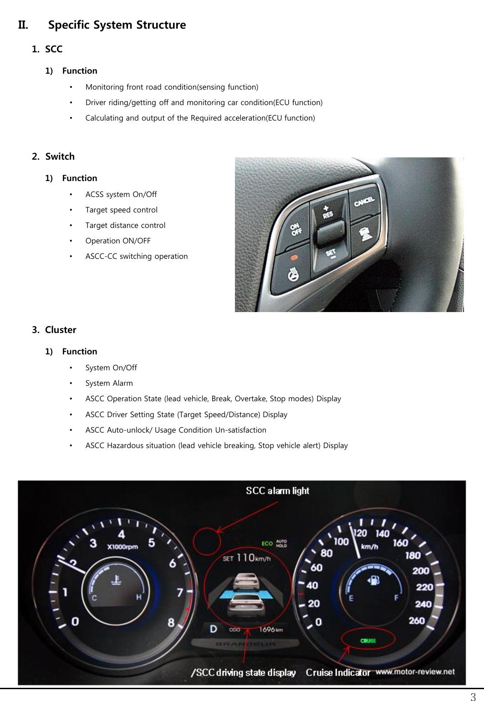 MANDO LRR-10 Automotive Radar User Manual SCC