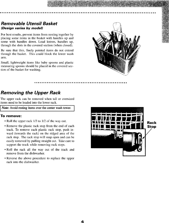 MAYTAG Dishwasher Manual L0503009