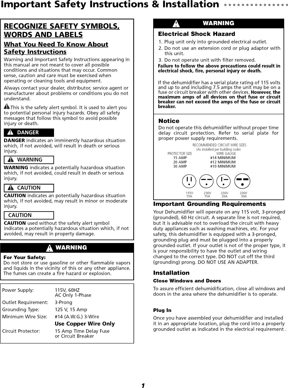 MAYTAG Dehumidifier Manual L0811394