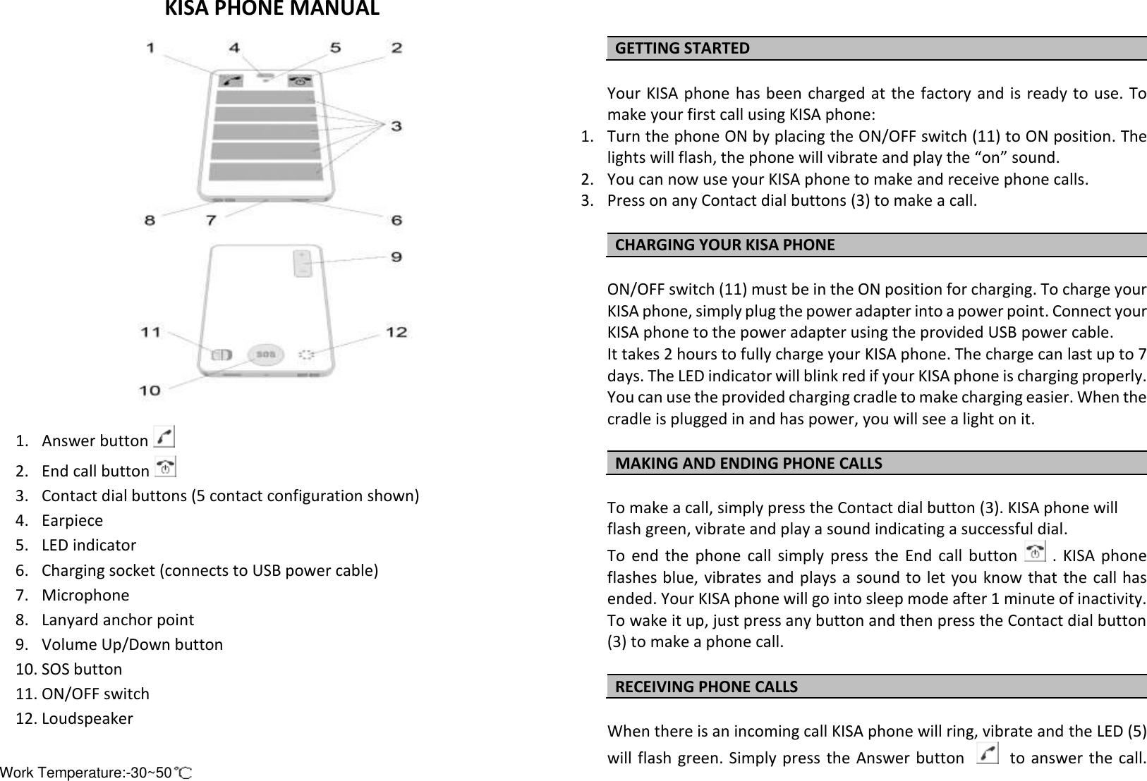Mobintel Kpau02 Smart Phone User Manual