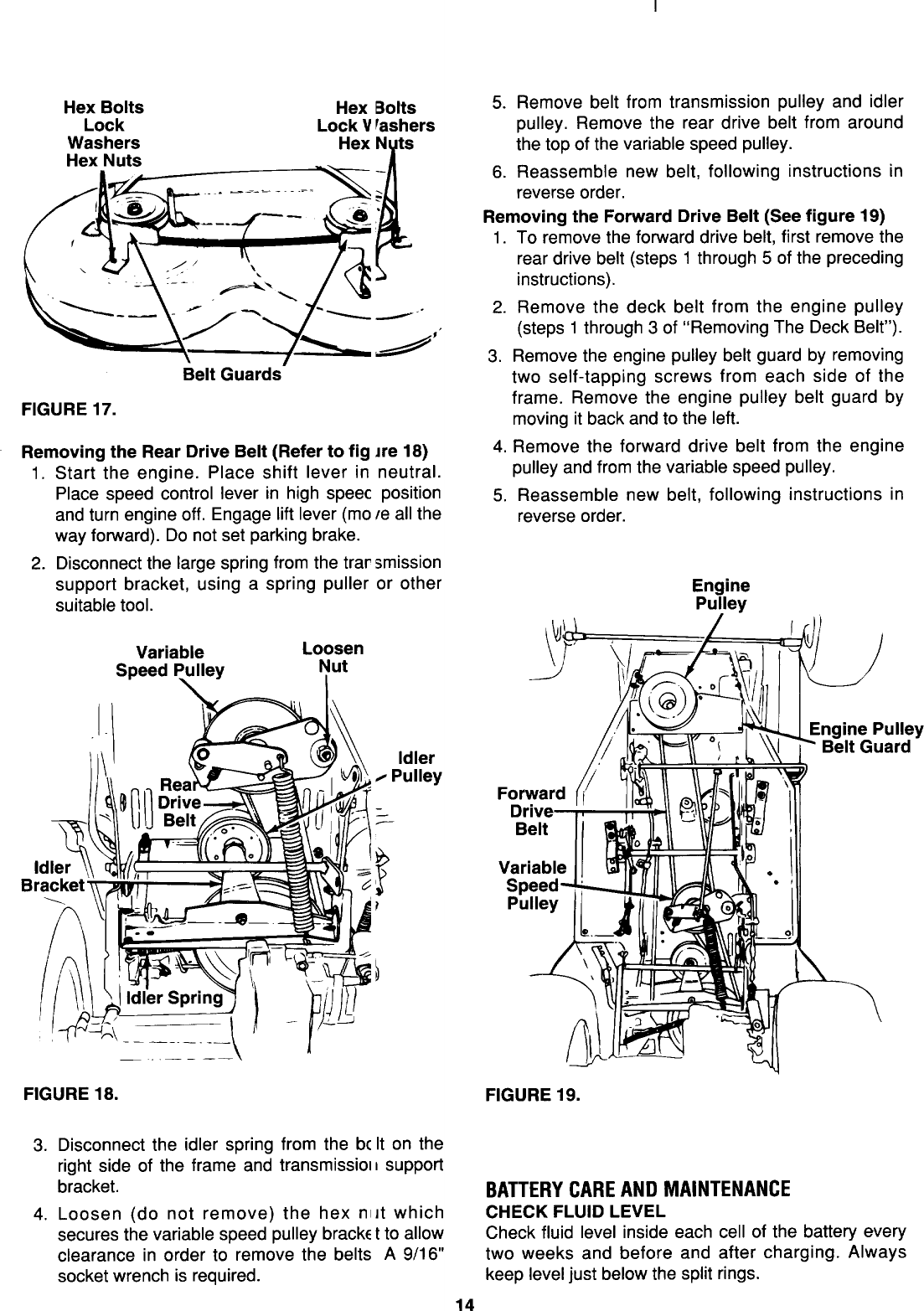 Mtd Variable Speed Pulley Removal