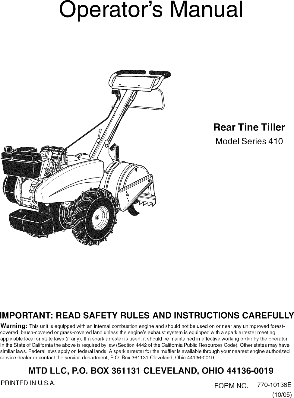 Solved A Rear Manual Guide