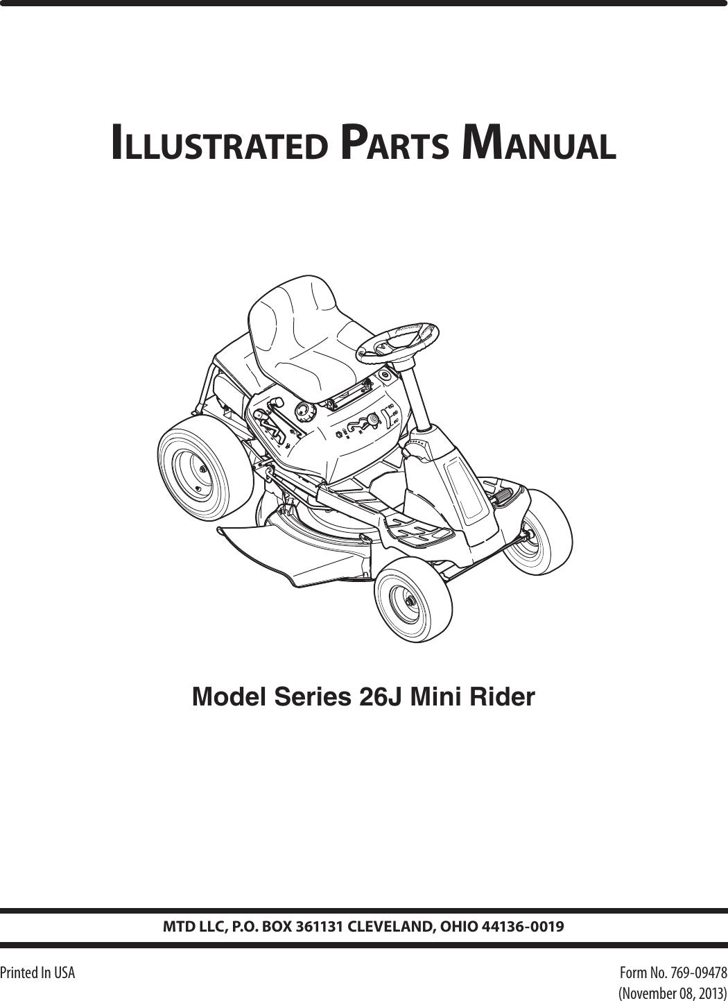 Mtd 26j User Manual To The 2f767016 0d02 436c 83aa Ee61d84446da Cleveland Motor Wiring Diagram