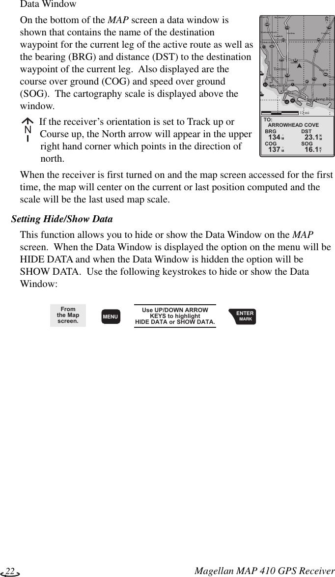 Magellan Thales Navigation Gps Receiver Map 410 Users Manual