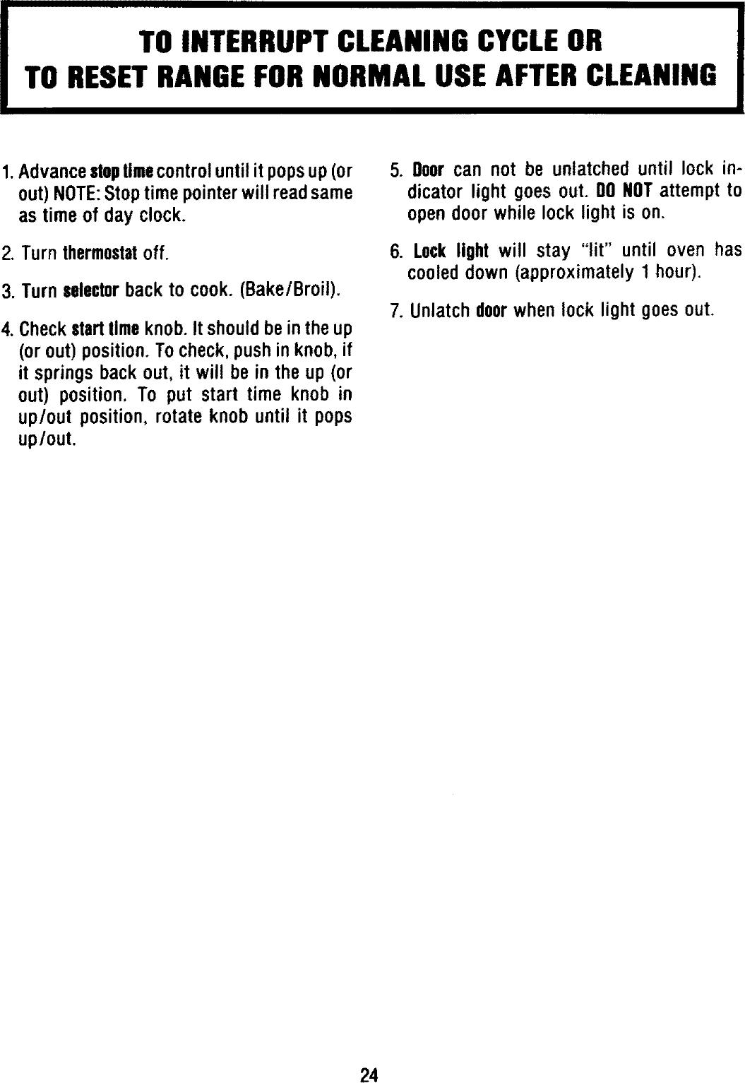Magic Chef CGR3742CDC User Manual RANGE Manuals And Guides L0803616