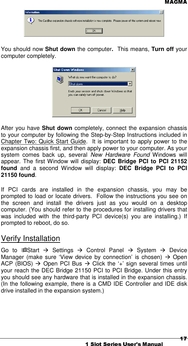 DEC 21150 PCI TO PCI BRIDGE DRIVER WINDOWS