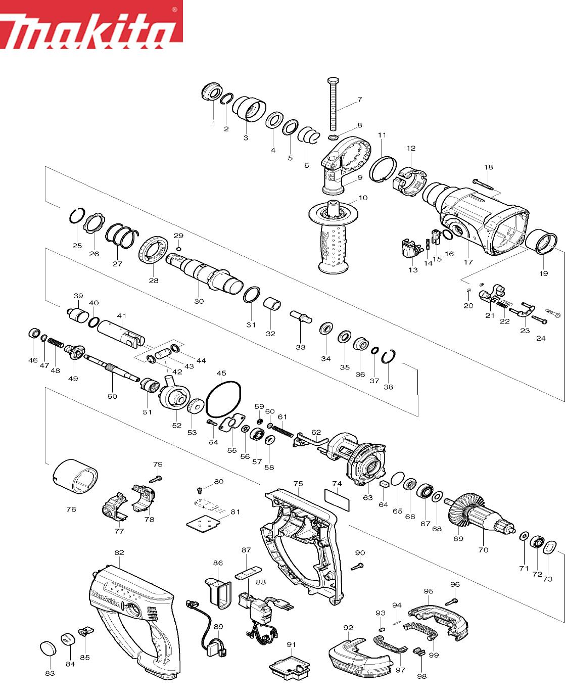 Makita Bhr202 Users Manual on