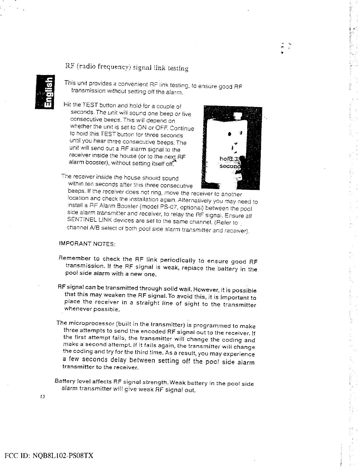 Manutec 8L102-PS08TX User Manual 8