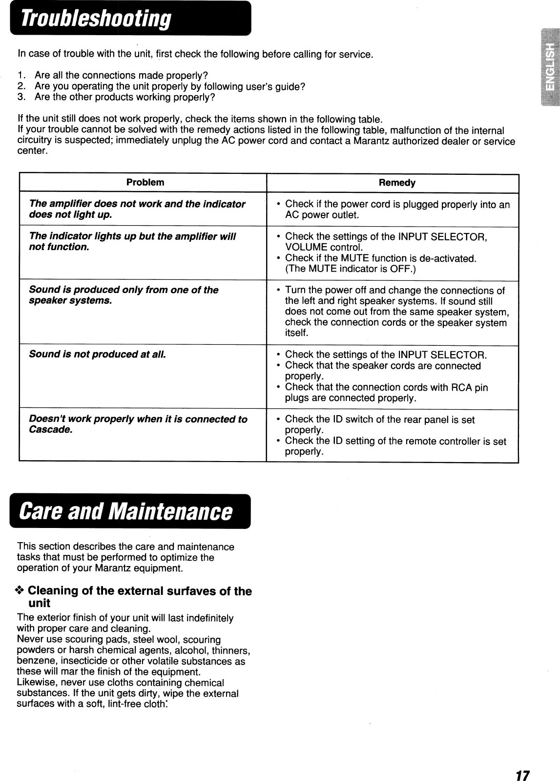 Marantz Zs5300 Users Manual 642ZS5300