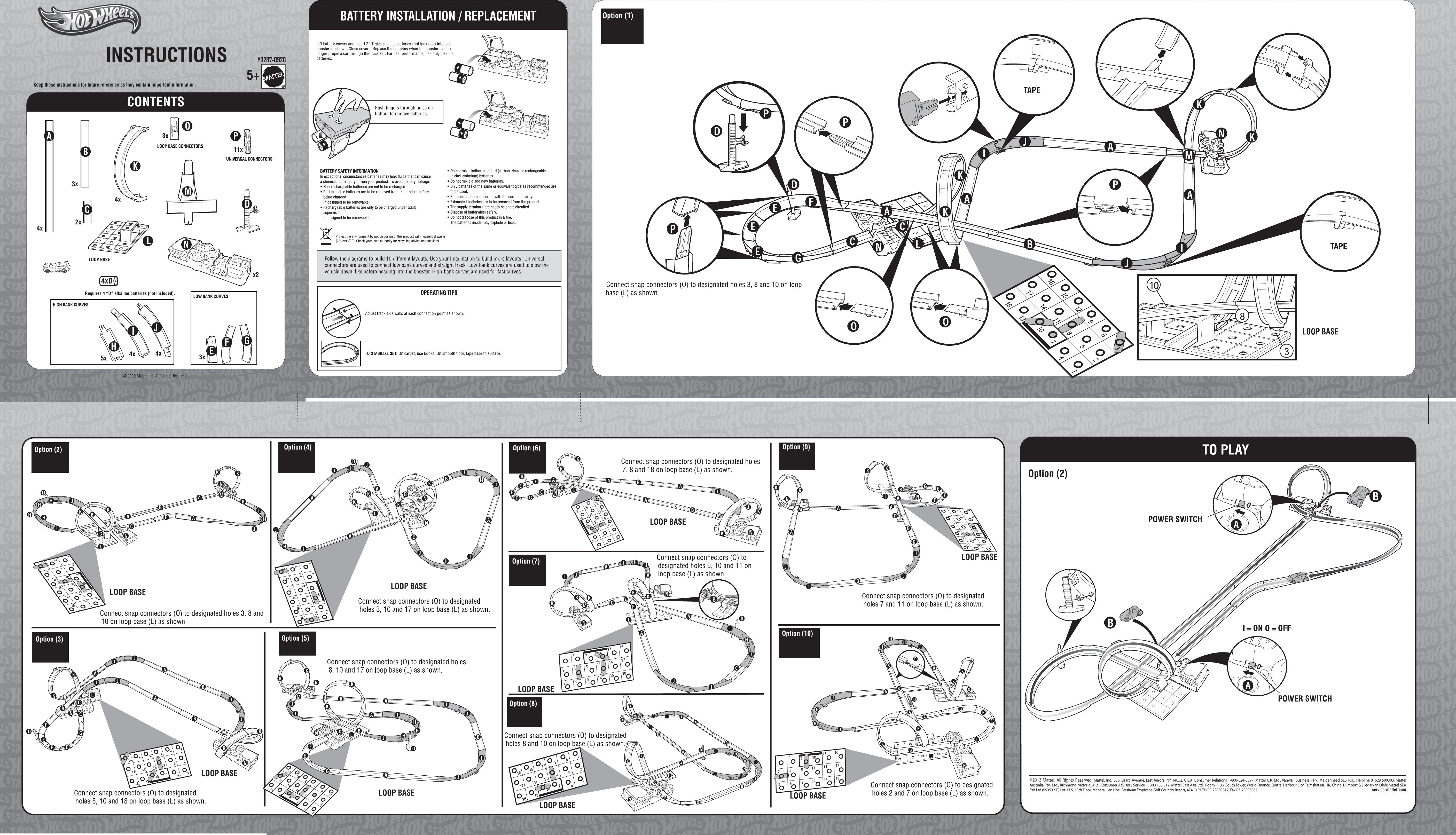 Power Wheels 76819 Manual Guide
