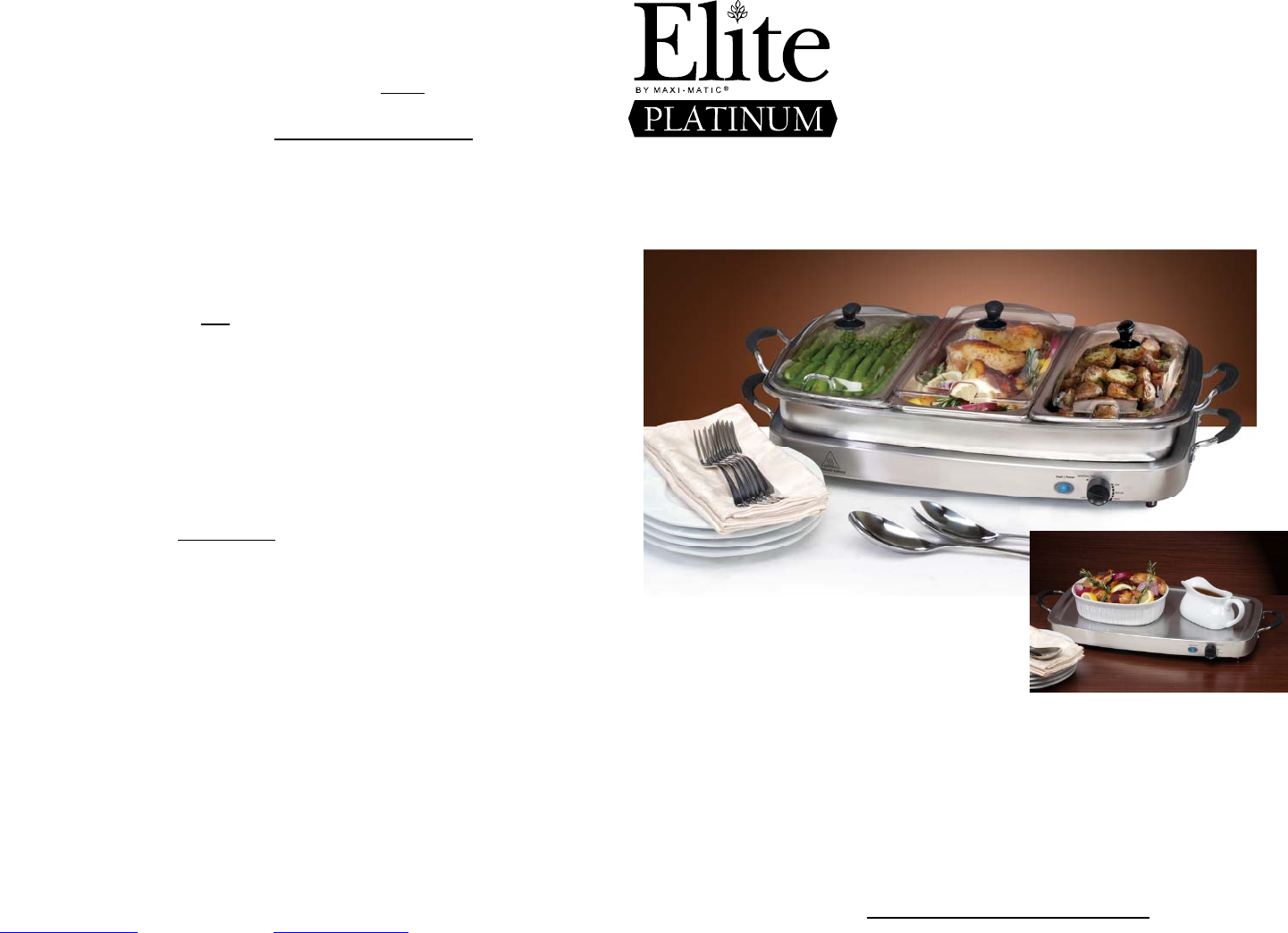 Maximatic Elite Platinum Ewm 9933 Users Manual Warranty