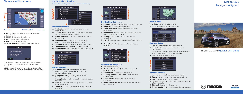 mazda cx 9 manual 2008