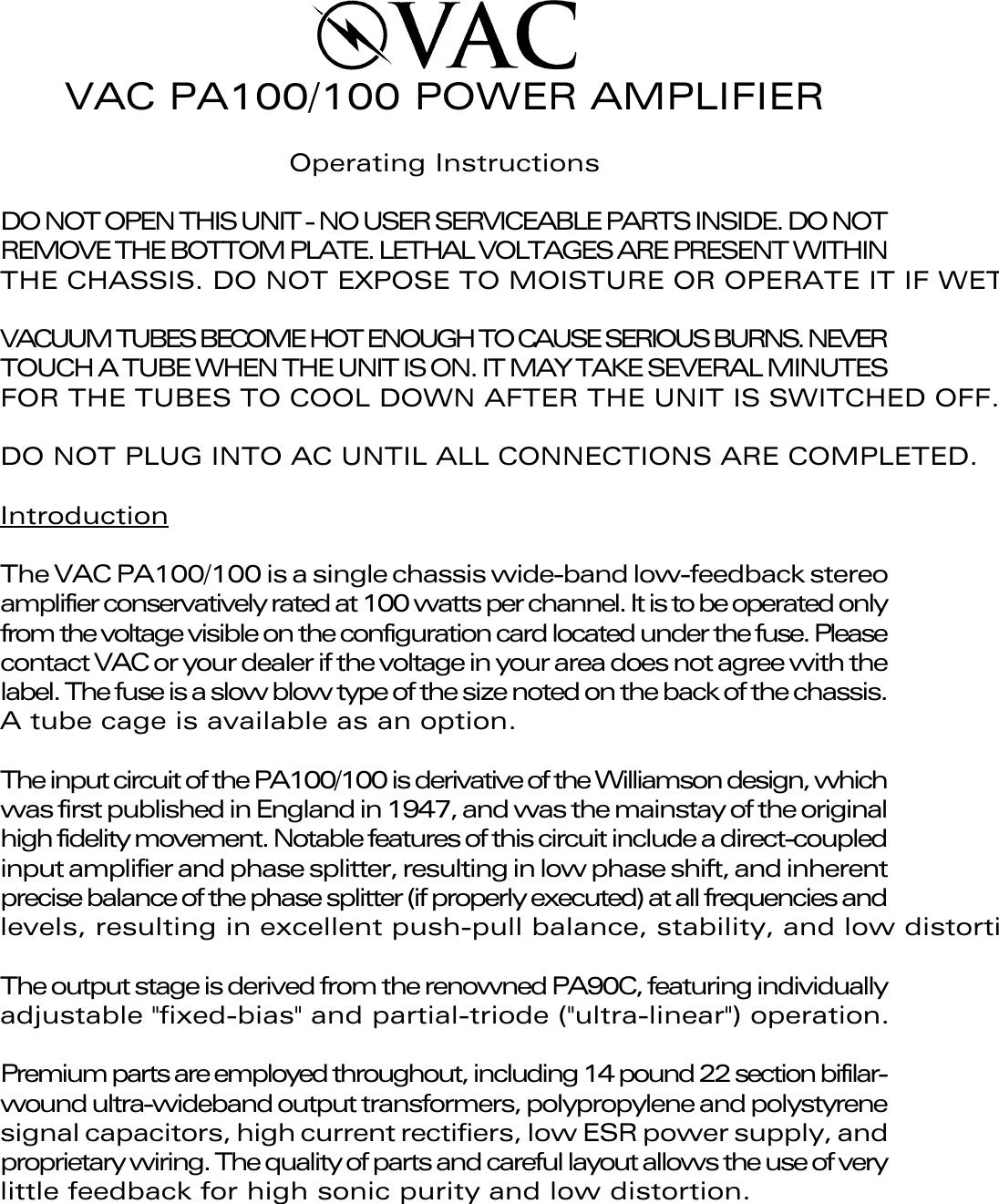 Mazda Vac Pa100 100 Users Manual Brochure 2004 Ac Plug Wiring Parts