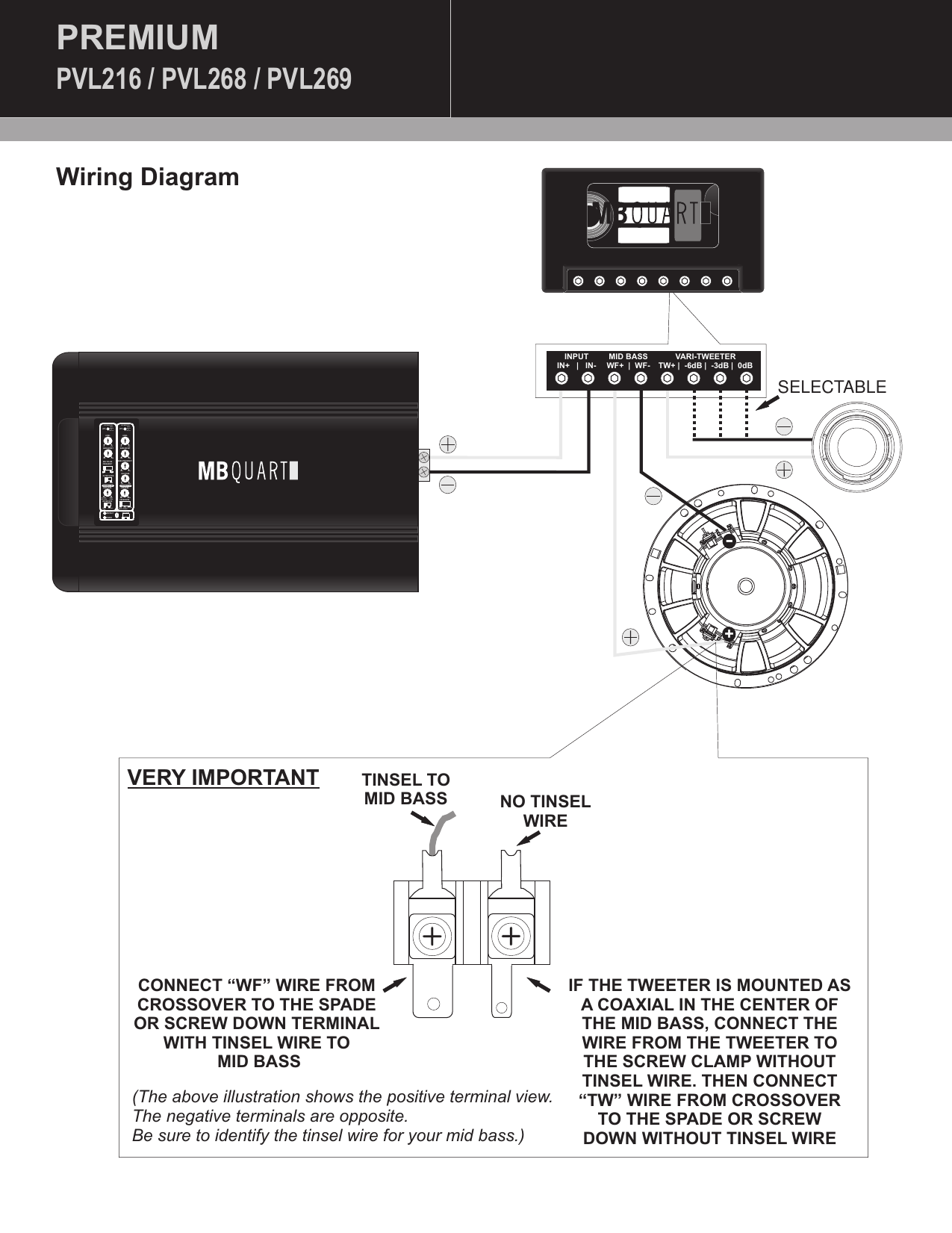 Mb Quart Crossover Wiring Diagram from usermanual.wiki