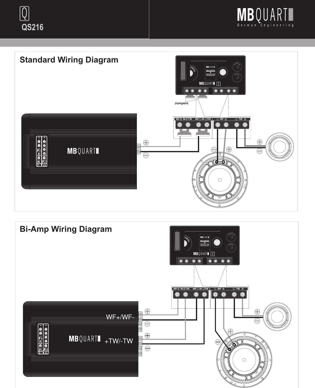Mb Quart Wire Diagram - Free Car Wiring Diagrams •