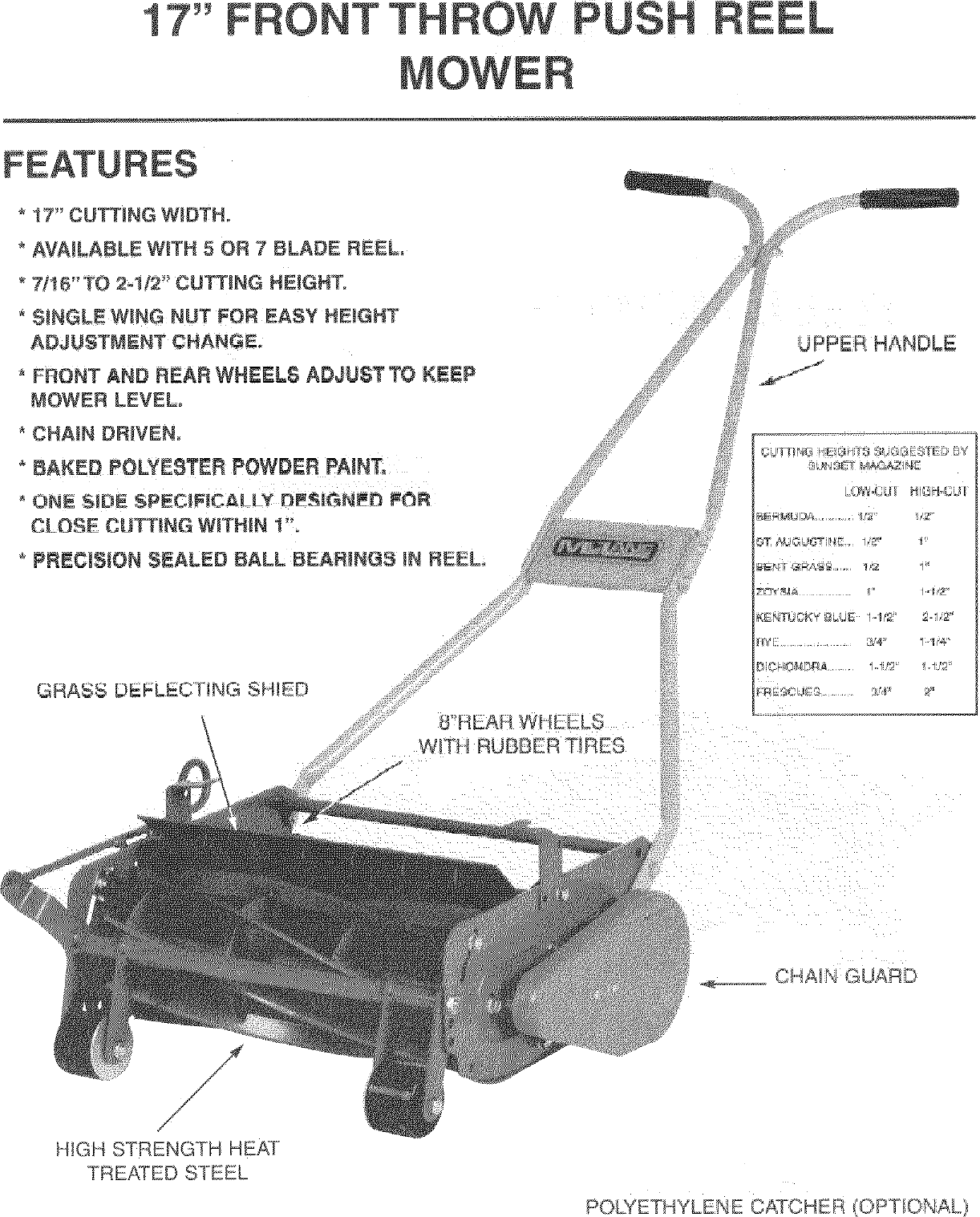 How To Choose A Reel Mower Manual Guide
