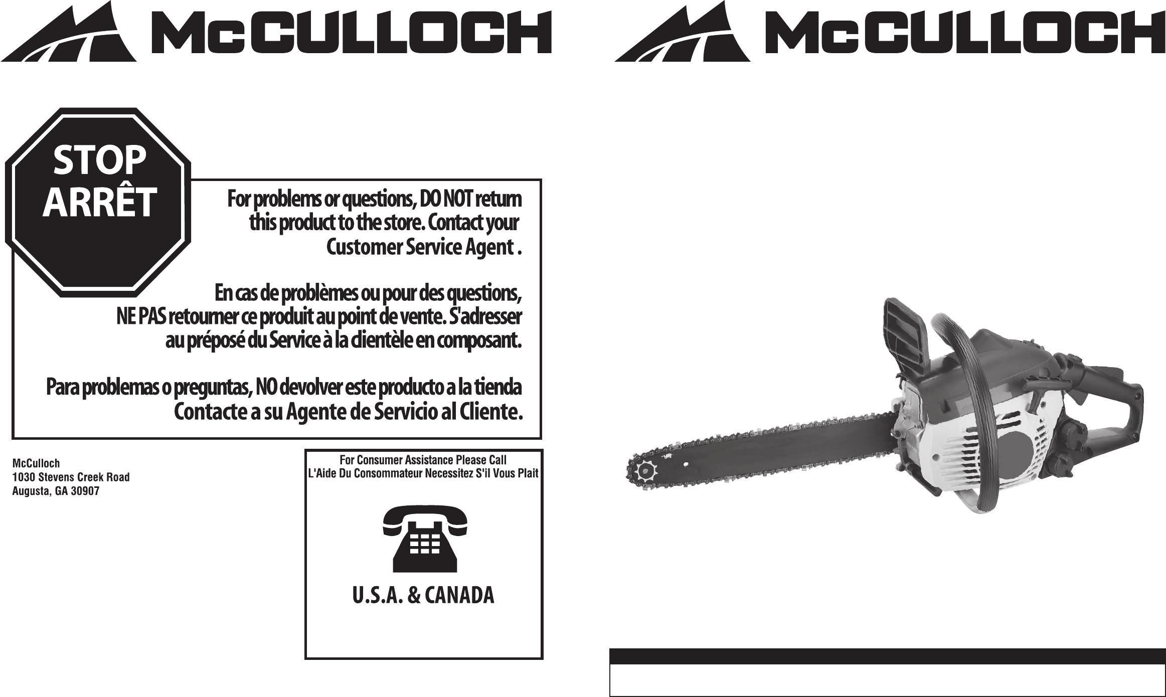 Standard 3//8 1,3 mm McCulloch Cadena 14 53 eslabones 35 cm